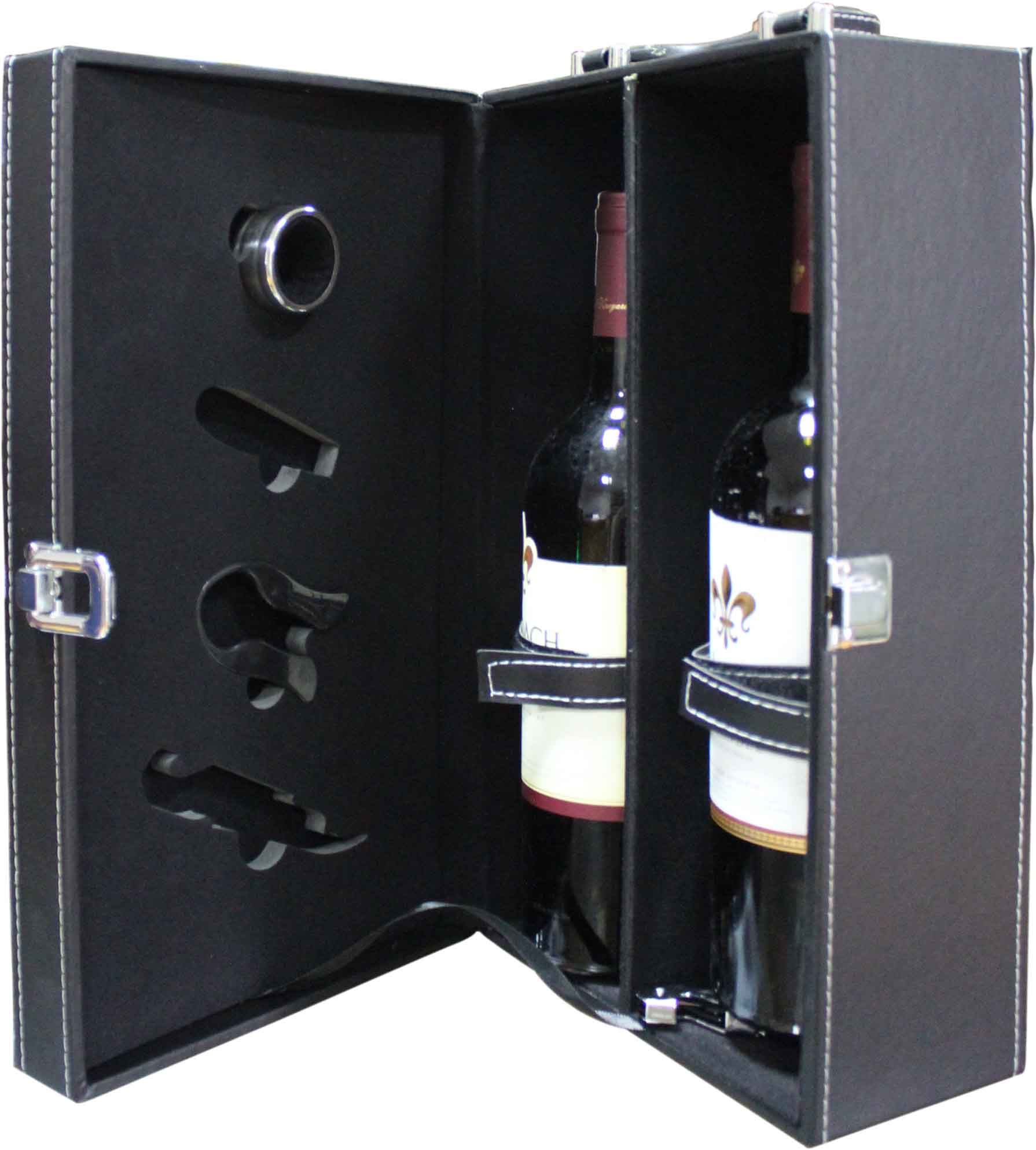 Double box with accessory
