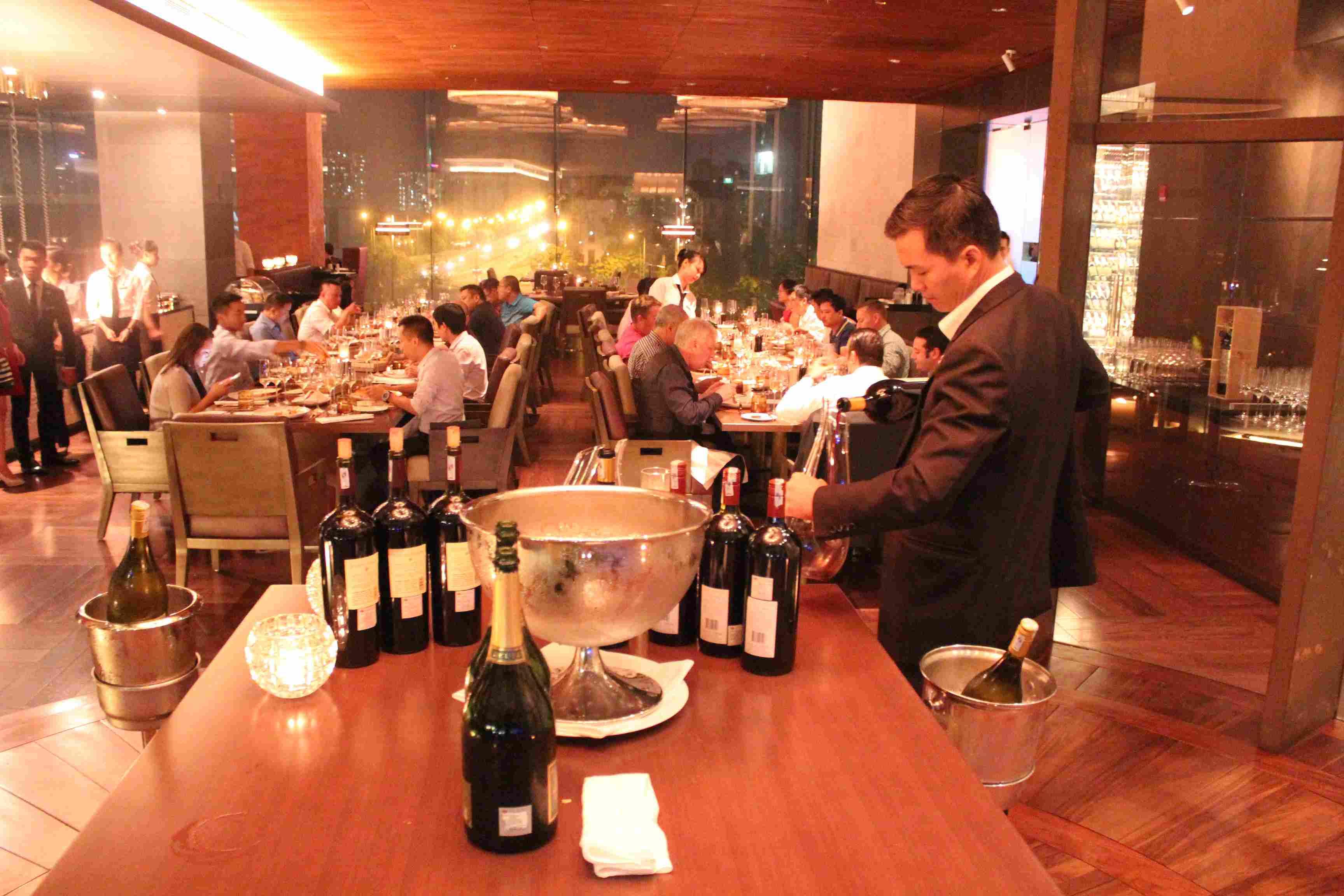 Sommelier Dinner (9/2015)