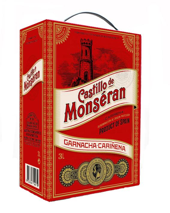 CASTILLO DE MONSERAN GARNACHA RED BIB 3.0L